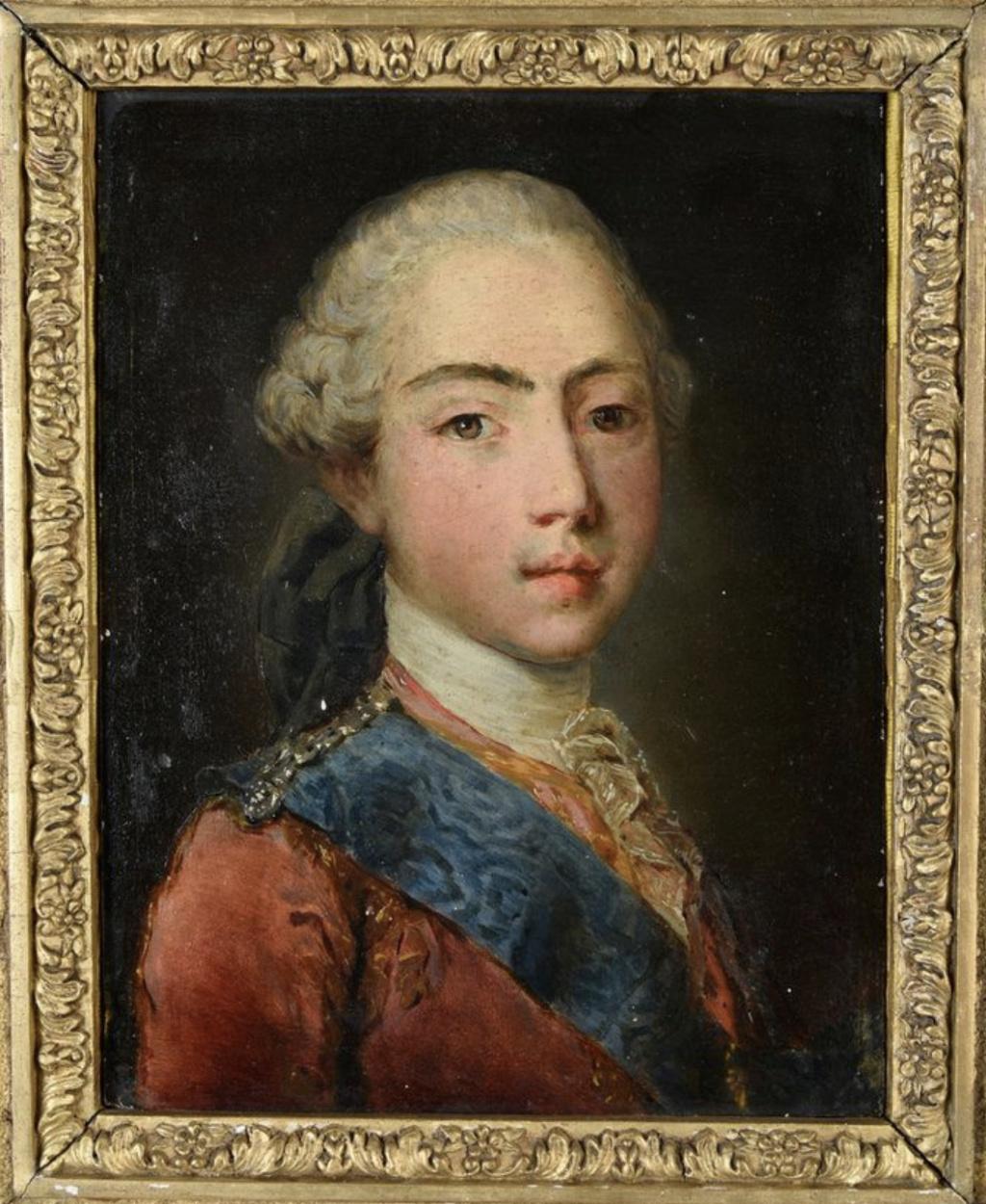Portraits de Marie-Antoinette et de la famille royale, par Jean-Martial Frédou - Page 2 Capt2556