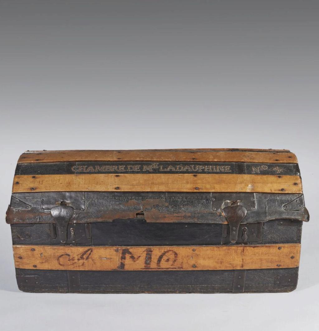Malles et coffres de voyage de Marie-Antoinette Capt2635
