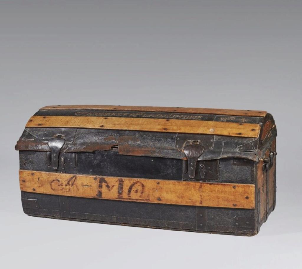 Malles et coffres de voyage de Marie-Antoinette Capt2636