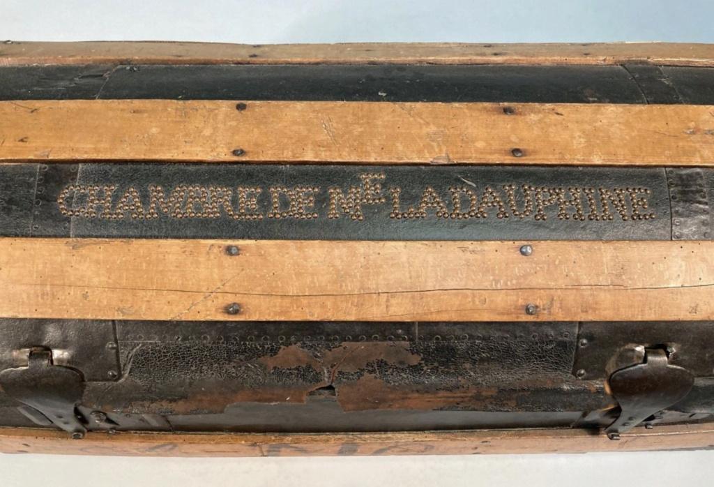 Malles et coffres de voyage de Marie-Antoinette Capt2639
