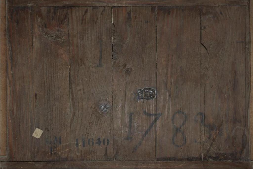 Marques du mobilier et sceau du Garde-Meuble de la reine Marie-Antoinette Capt2652