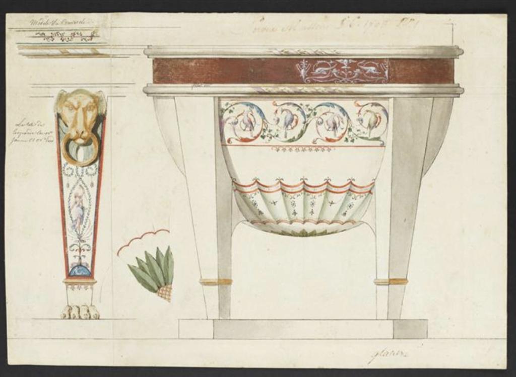 """Seaux à glace """" à trépieds """" en porcelaine de Sèvres  Capt2716"""