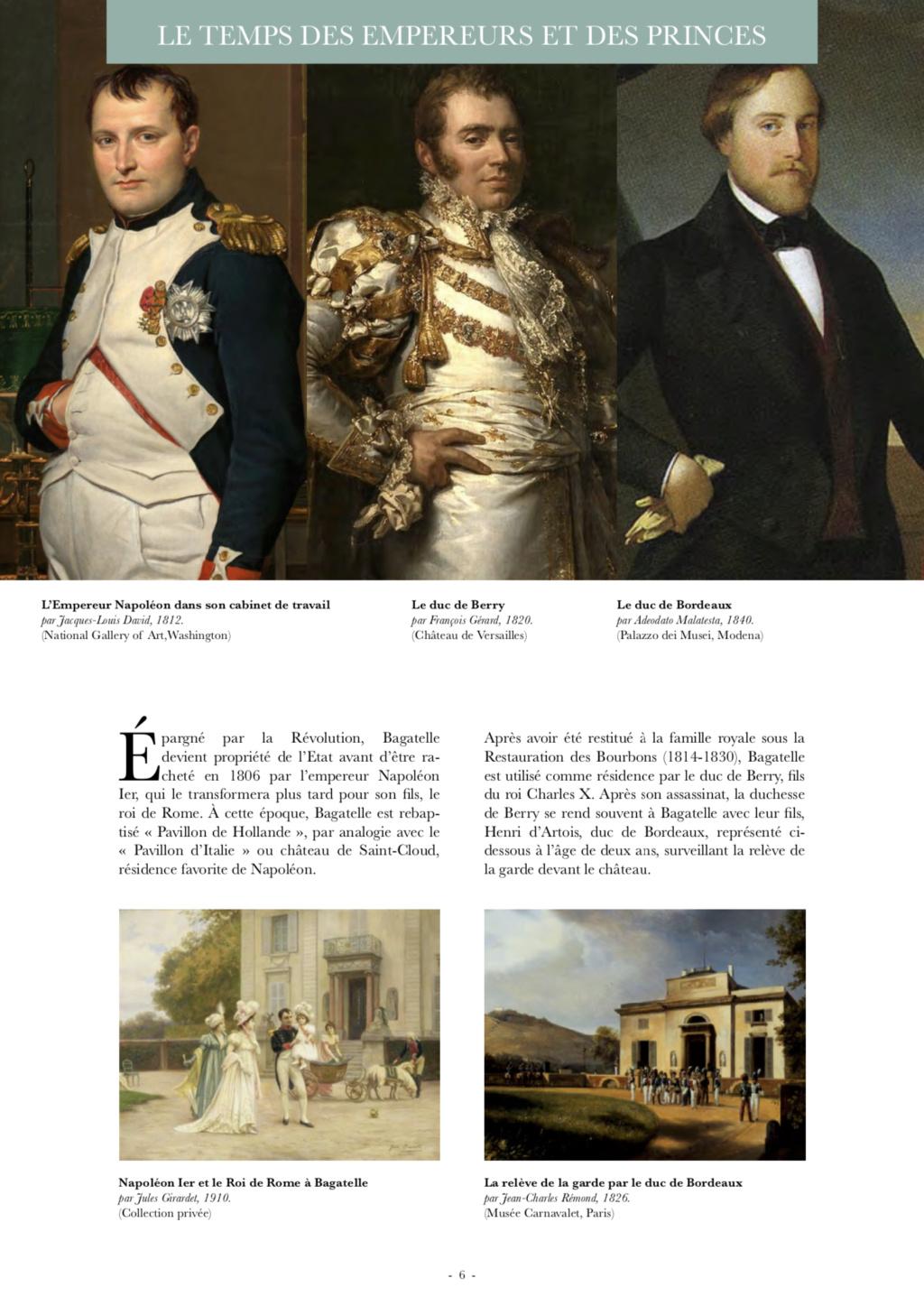 """Le château de Bagatelle : la """" folie """" du comte d'Artois - Page 3 Capt2791"""