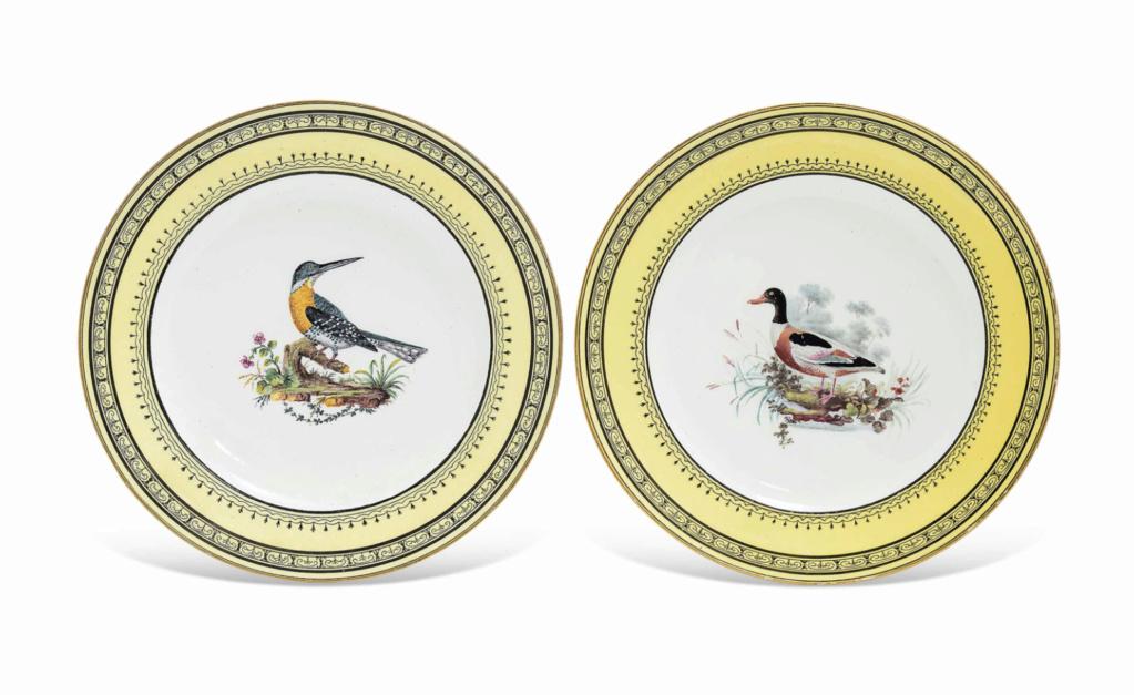 """Seaux à glace """" à trépieds """" en porcelaine de Sèvres  Capt2816"""