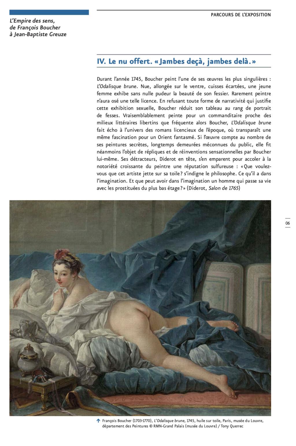 Exposition : L'Empire des sens, de François Boucher à Jean-Baptiste Greuze, au musée Cognacq-Jay Capt2870