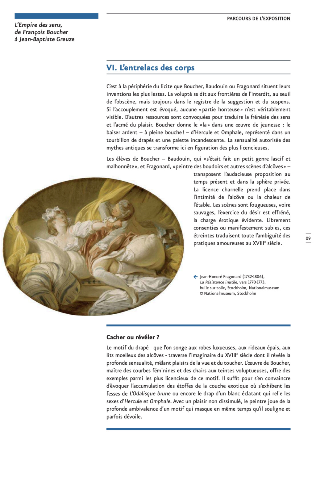 Exposition : L'Empire des sens, de François Boucher à Jean-Baptiste Greuze, au musée Cognacq-Jay Capt2872