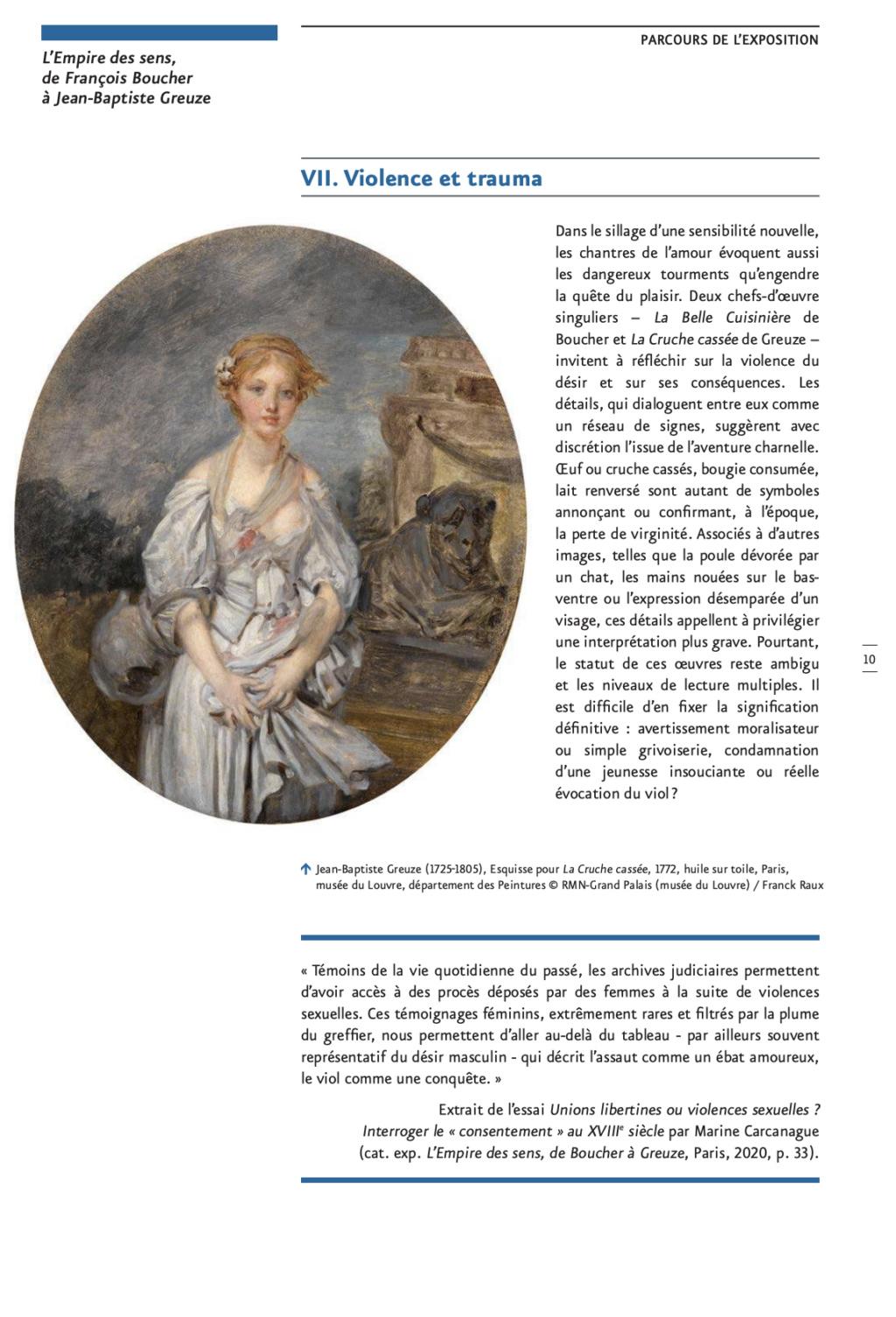 Exposition : L'Empire des sens, de François Boucher à Jean-Baptiste Greuze, au musée Cognacq-Jay Capt2873