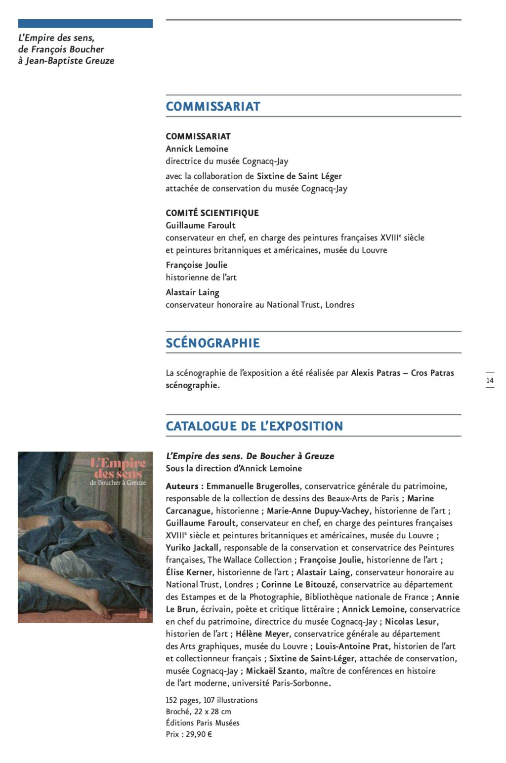 Exposition : L'Empire des sens, de François Boucher à Jean-Baptiste Greuze, au musée Cognacq-Jay Capt2877