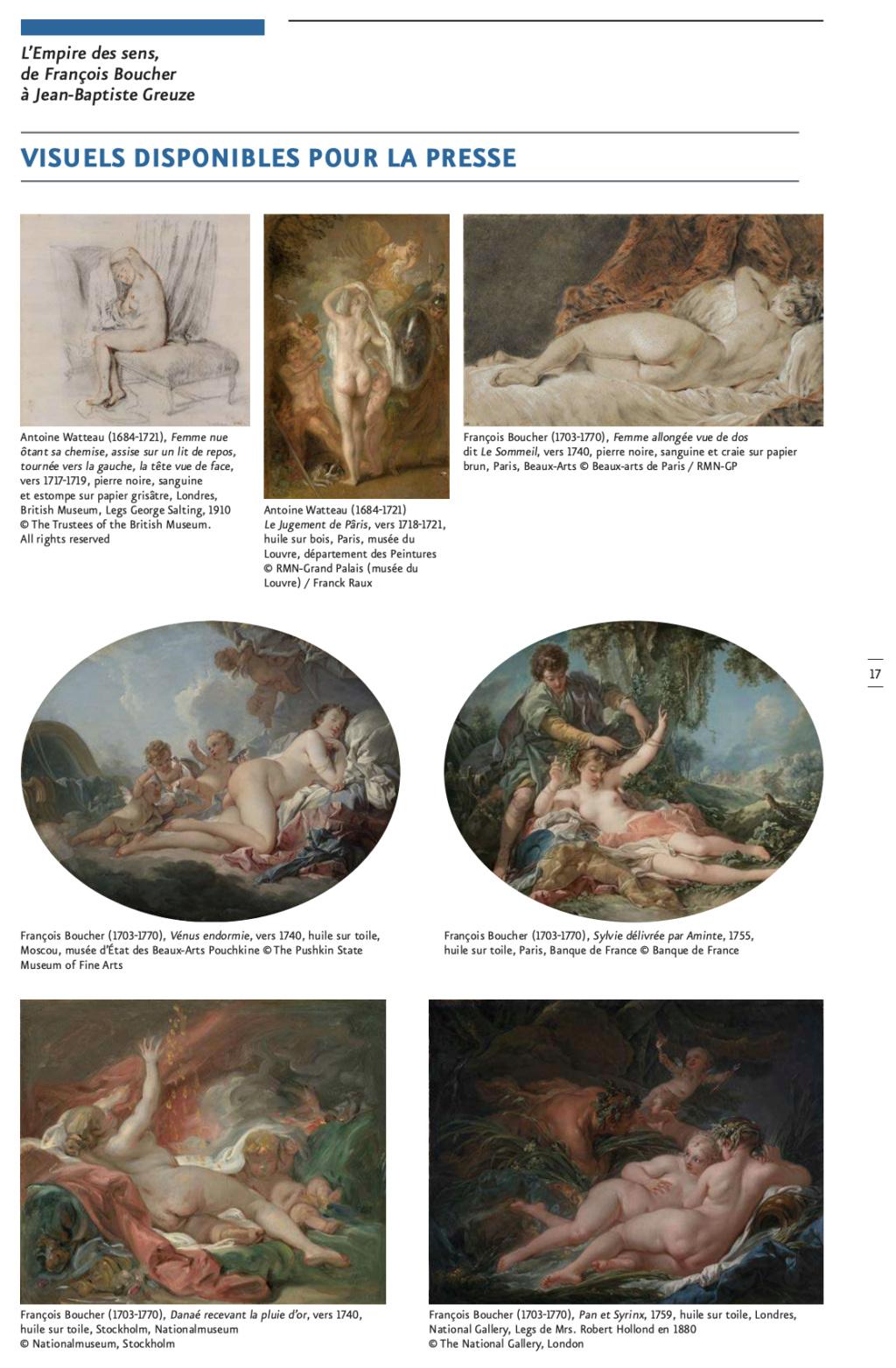 Exposition : L'Empire des sens, de François Boucher à Jean-Baptiste Greuze, au musée Cognacq-Jay Capt2878