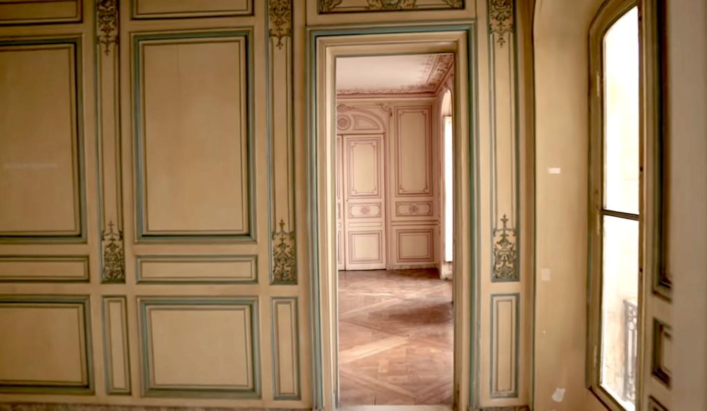 Restauration de l'appartement de Mme du Barry, à Versailles Capt2880