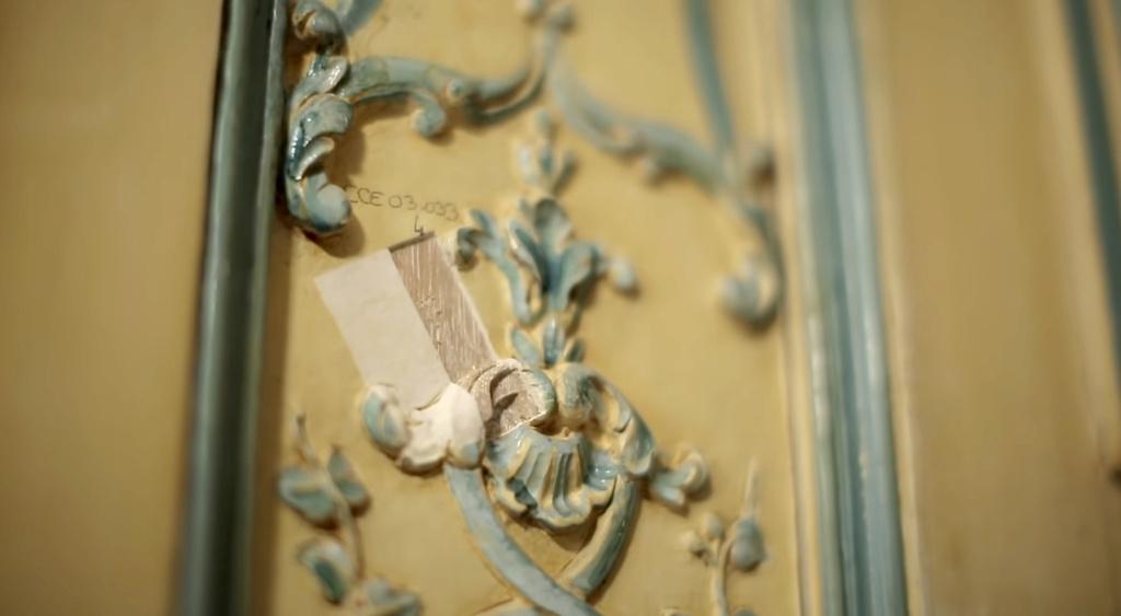Restauration de l'appartement de Mme du Barry, à Versailles Capt2883