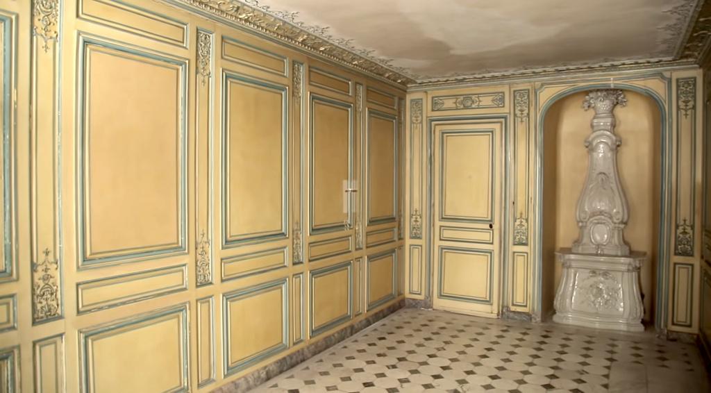 Restauration de l'appartement de Mme du Barry, à Versailles Capt2885