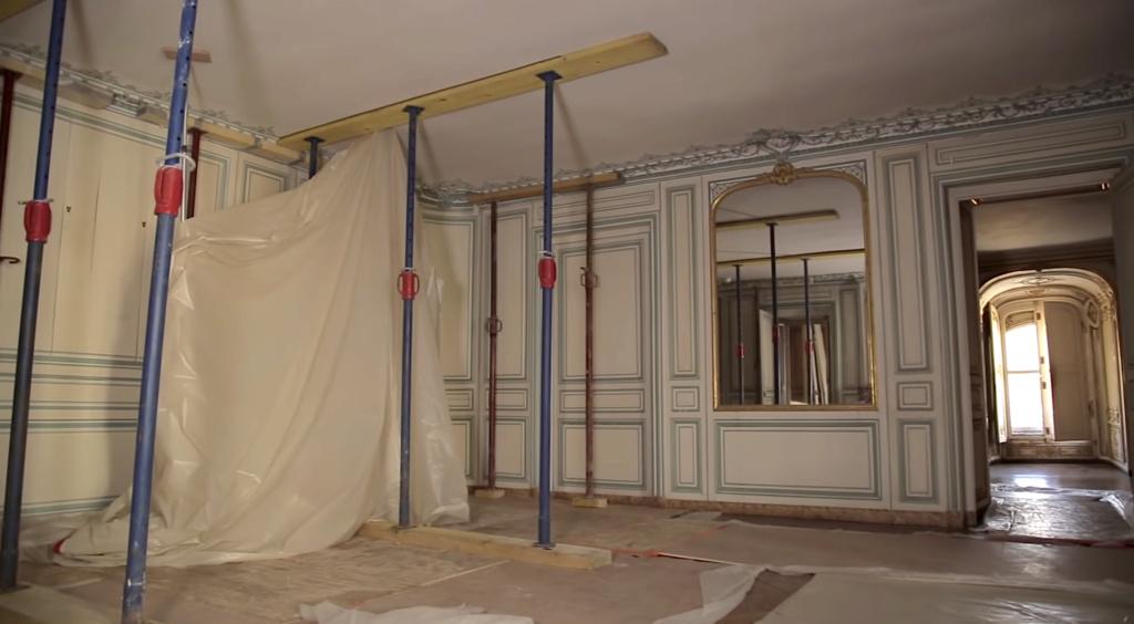 Restauration de l'appartement de Mme du Barry, à Versailles Capt2886