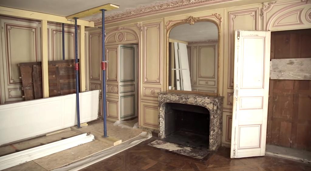 Restauration de l'appartement de Mme du Barry, à Versailles Capt2888
