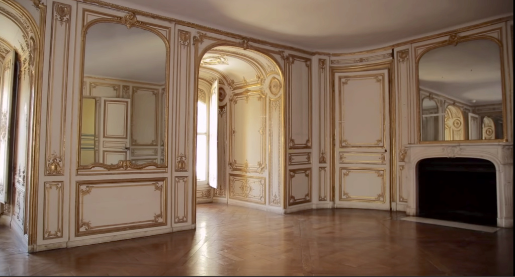Restauration de l'appartement de Mme du Barry, à Versailles Capt2892