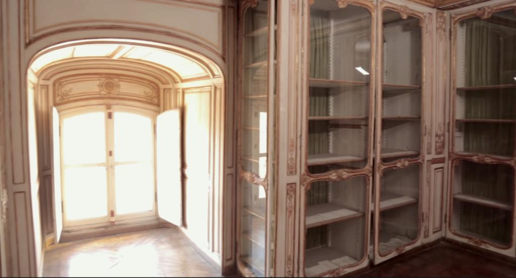 Restauration de l'appartement de Mme du Barry, à Versailles Capt2893
