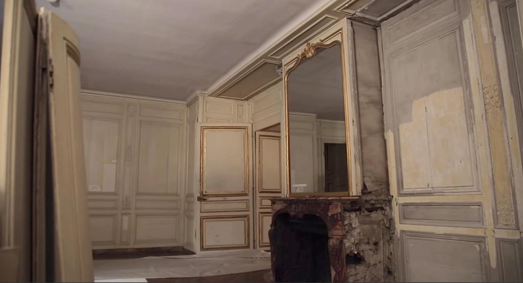Restauration de l'appartement de Mme du Barry, à Versailles Capt2894