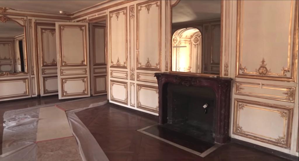 Restauration de l'appartement de Mme du Barry, à Versailles Capt2895