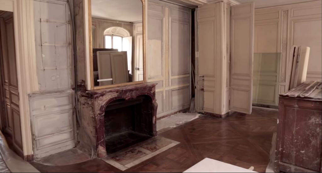 Restauration de l'appartement de Mme du Barry, à Versailles Capt2896