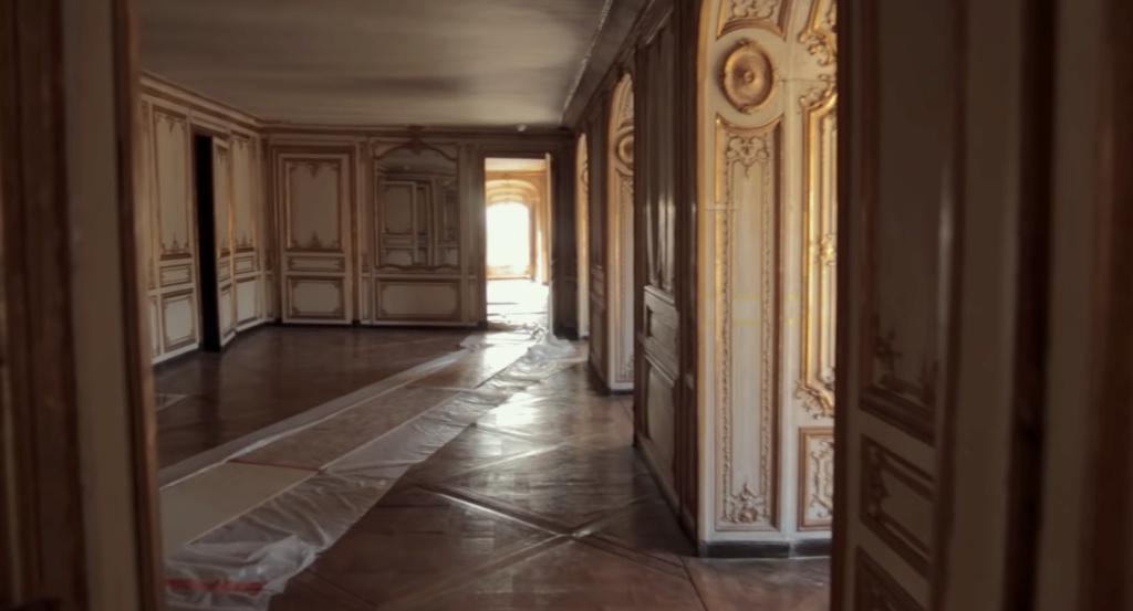 Restauration de l'appartement de Mme du Barry, à Versailles Capt2898