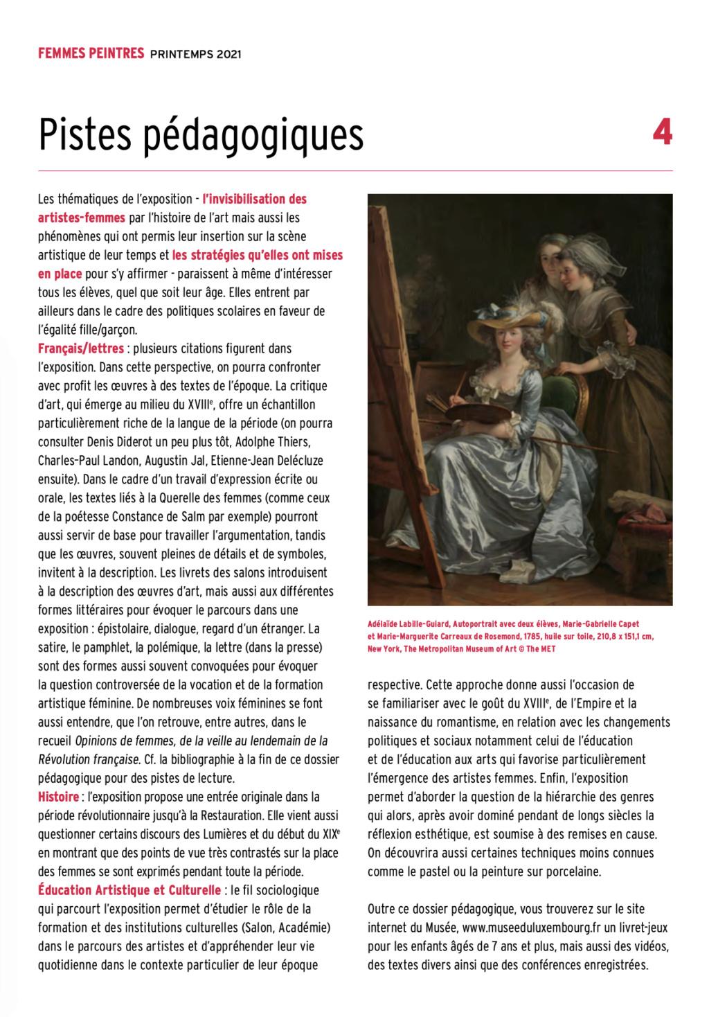 Exposition : Peintres femmes 1780-1830, naissance d'un combat. Au musée du Luxembourg Paris Capt2921