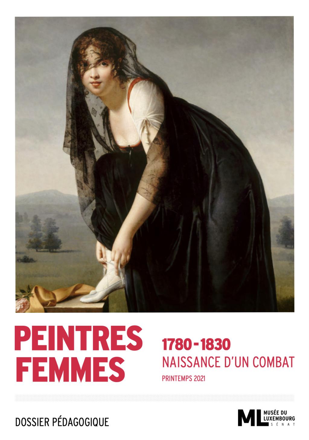Exposition : Peintres femmes 1780-1830, naissance d'un combat. Au musée du Luxembourg Paris Capt2922