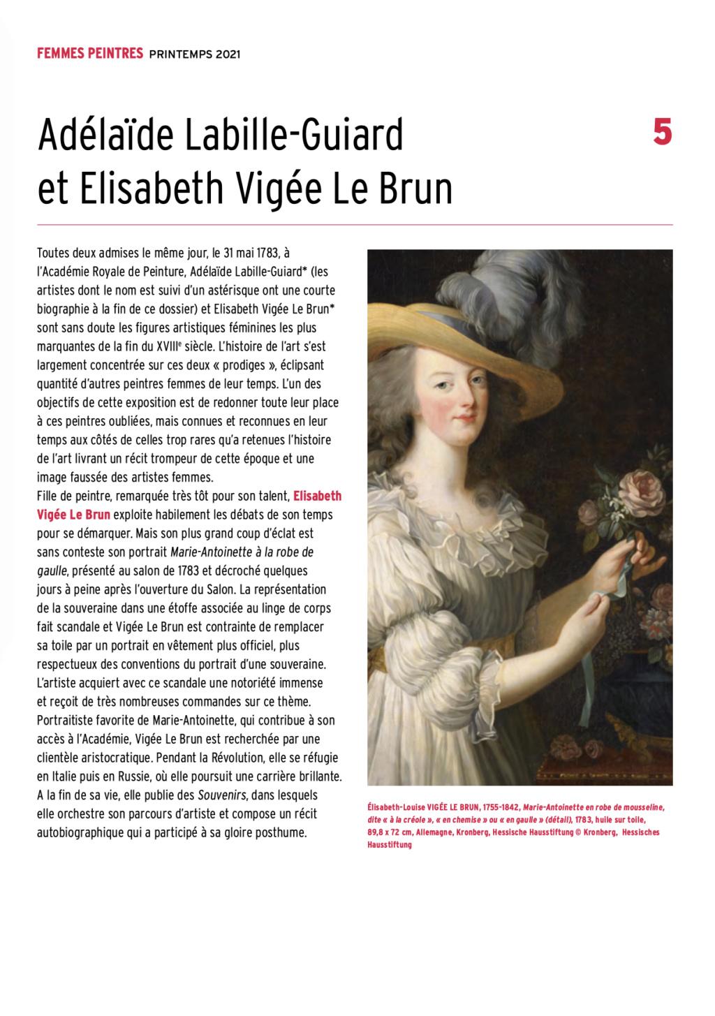 Exposition : Peintres femmes 1780-1830, naissance d'un combat. Au musée du Luxembourg Paris Capt2923