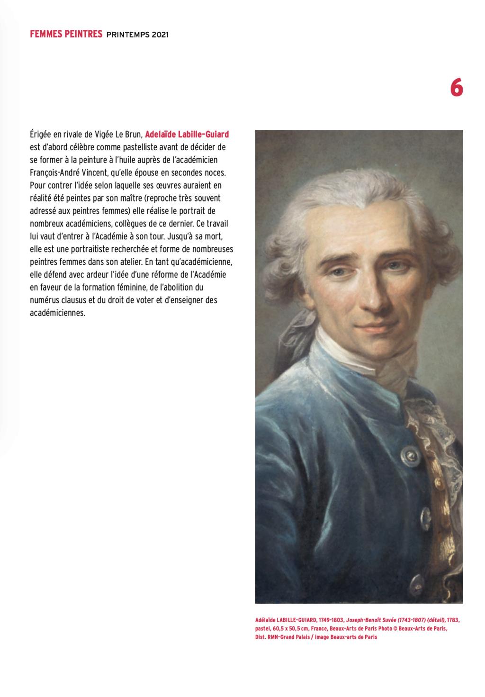 Exposition : Peintres femmes 1780-1830, naissance d'un combat. Au musée du Luxembourg Paris Capt2924