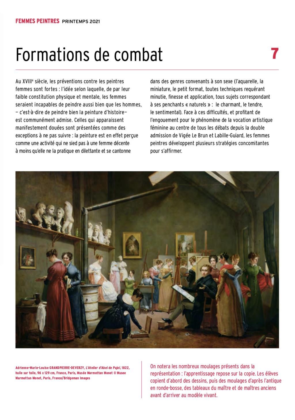 Exposition : Peintres femmes 1780-1830, naissance d'un combat. Au musée du Luxembourg Paris Capt2925