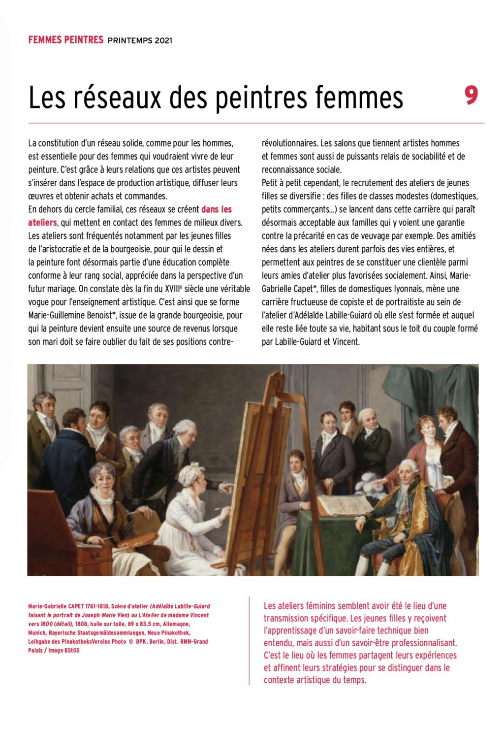 Exposition : Peintres femmes 1780-1830, naissance d'un combat. Au musée du Luxembourg Paris Capt2928