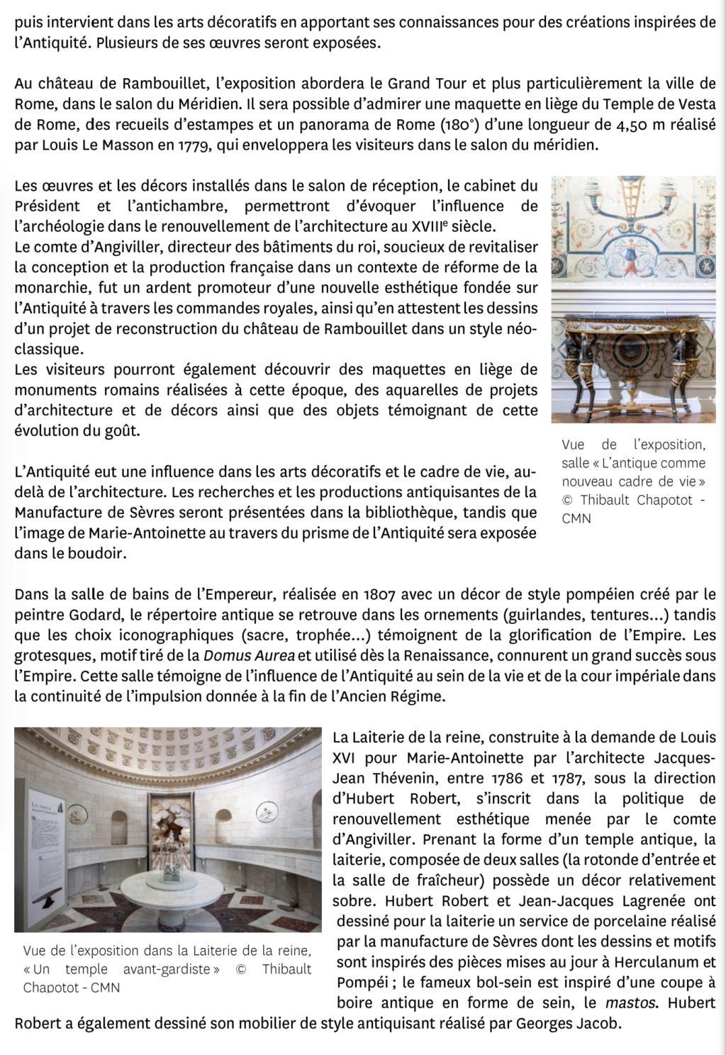 """Exposition """" Vivre à l'antique, de Marie-Antoinette à Napoléon Ier """" - Château de Rambouillet - Page 2 Capt2964"""