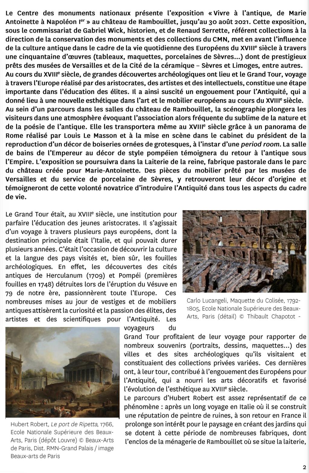 """Exposition """" Vivre à l'antique, de Marie-Antoinette à Napoléon Ier """" - Château de Rambouillet - Page 2 Capt2965"""