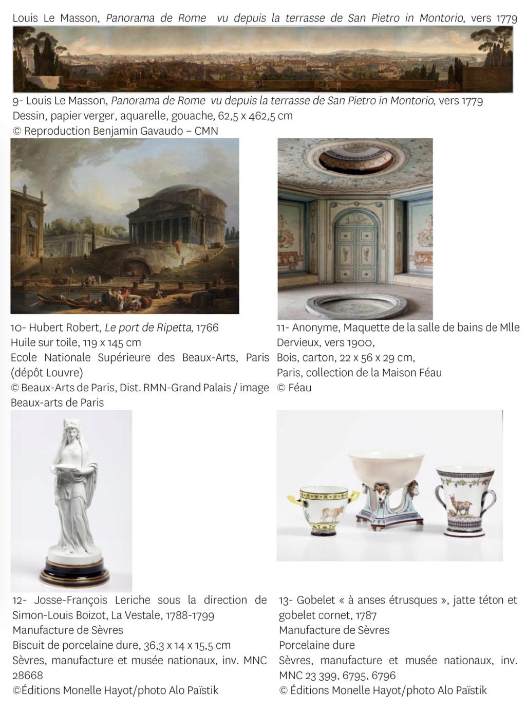 """Exposition """" Vivre à l'antique, de Marie-Antoinette à Napoléon Ier """" - Château de Rambouillet - Page 2 Capt2966"""