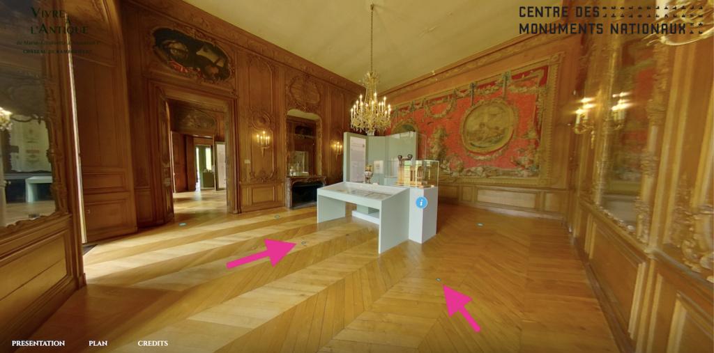 """Exposition """" Vivre à l'antique, de Marie-Antoinette à Napoléon Ier """" - Château de Rambouillet - Page 2 Capt2971"""