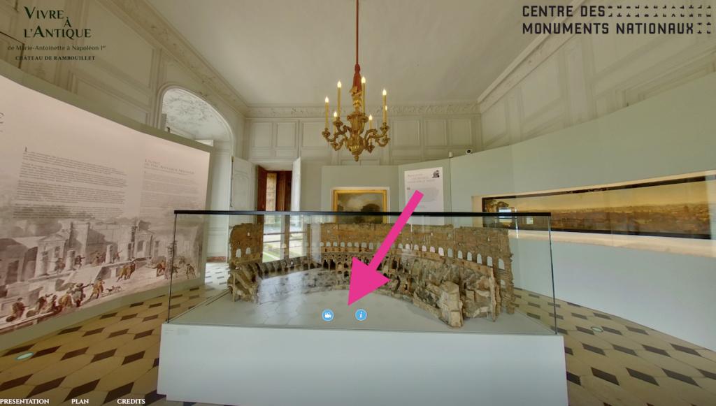 """Exposition """" Vivre à l'antique, de Marie-Antoinette à Napoléon Ier """" - Château de Rambouillet - Page 2 Capt2972"""
