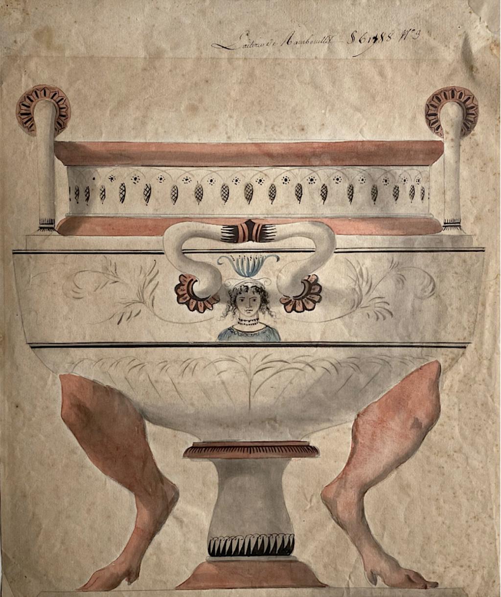 Service de Marie-Antoinette pour Rambouillet en porcelaine de Sèvres Capt2976