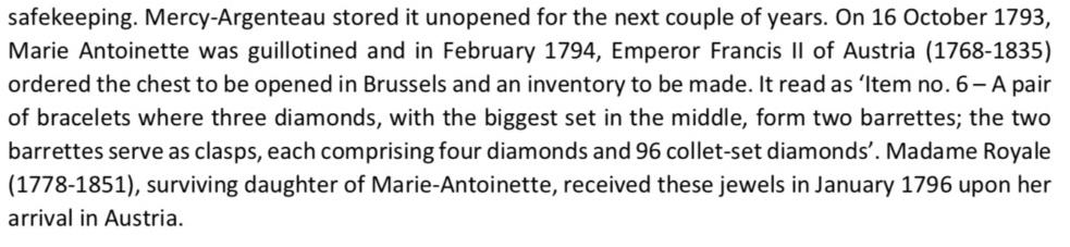 Bijoux de Marie-Antoinette : bracelets de diamants  - Page 2 Capt3010