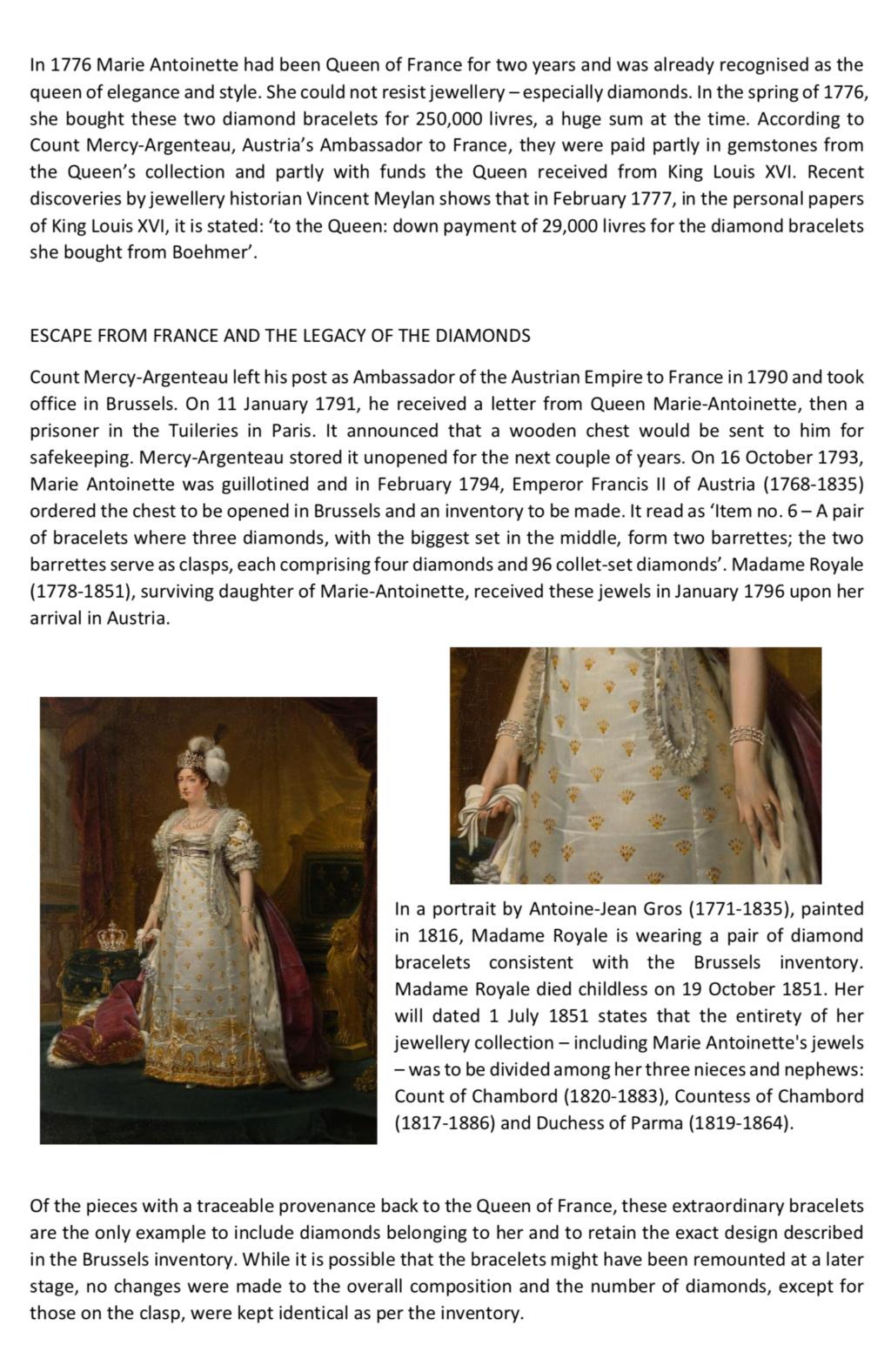 Bijoux de Marie-Antoinette : bracelets de diamants  - Page 2 Capt3026
