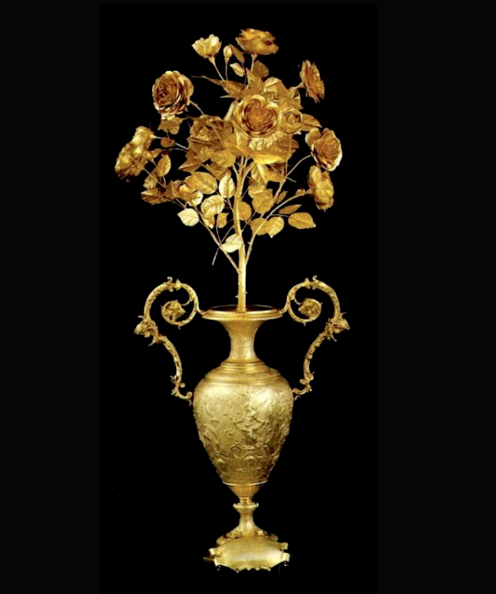 Les Roses d'or ou Roses bénites. L'exemplaire offert par le pape Clément XIV à la reine Marie-Caroline de Naples Capt3028
