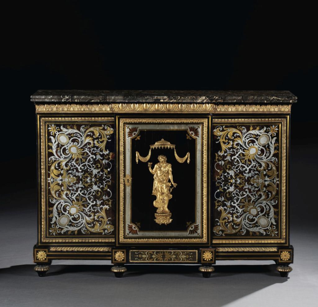 Le mobilier et le renouveau du « style Boulle » dans les années 1770-1780 : Etienne Levasseur et Adam Weisweiler Capt3076