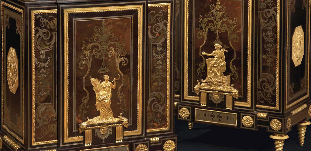 Le mobilier et le renouveau du « style Boulle » dans les années 1770-1780 : Etienne Levasseur et Adam Weisweiler Capt3084