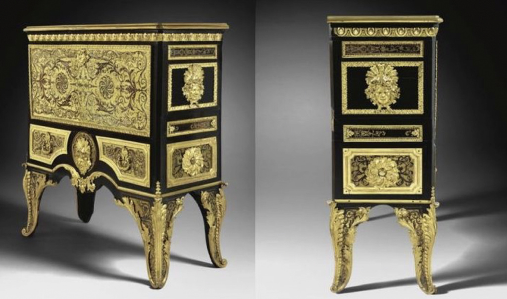 Le mobilier et le renouveau du « style Boulle » dans les années 1770-1780 : Etienne Levasseur et Adam Weisweiler Capt3086
