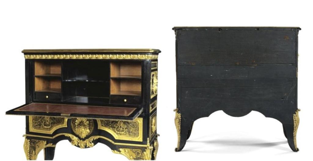 Le mobilier et le renouveau du « style Boulle » dans les années 1770-1780 : Etienne Levasseur et Adam Weisweiler Capt3087
