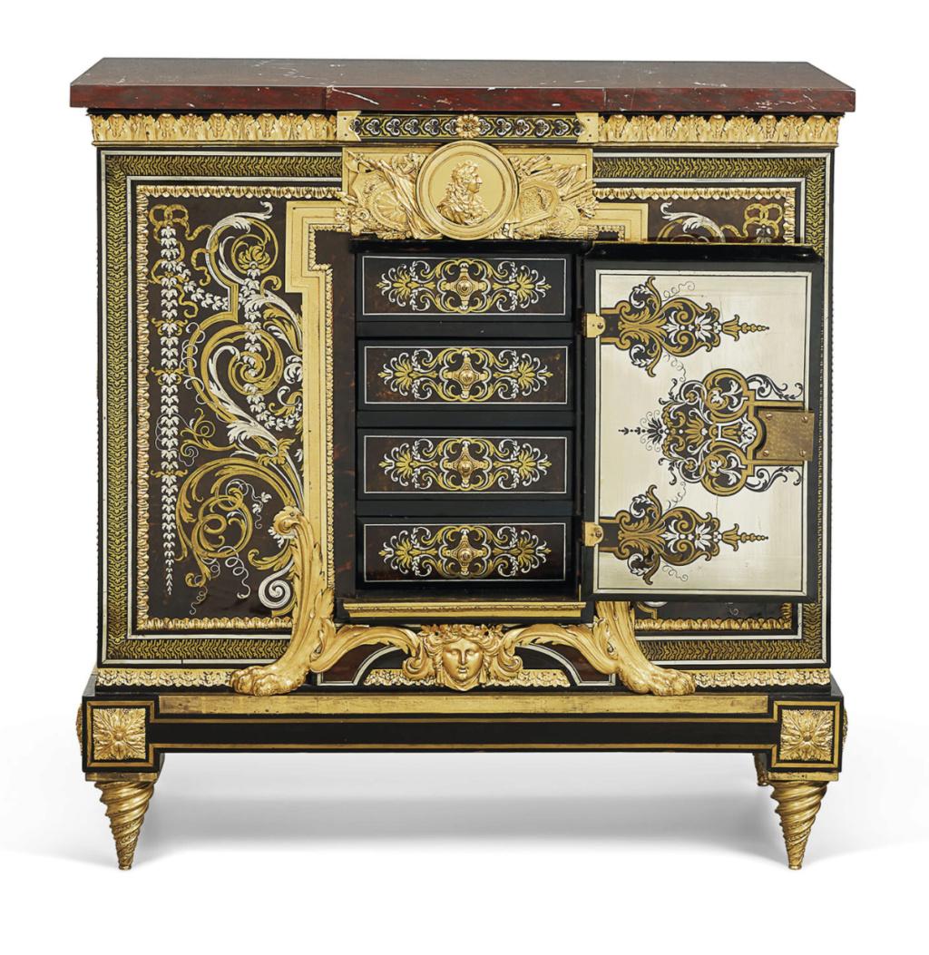 Le mobilier et le renouveau du « style Boulle » dans les années 1770-1780 : Etienne Levasseur et Adam Weisweiler Capt3089