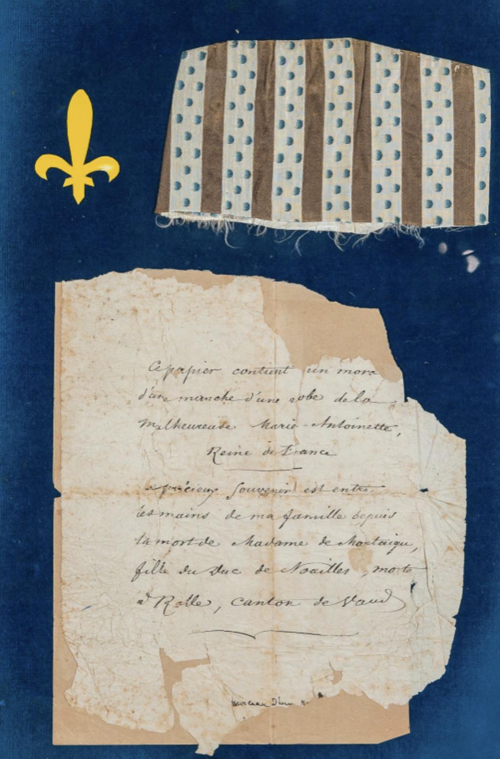 Fragments des robes de Marie-Antoinette - Page 3 Capt3098