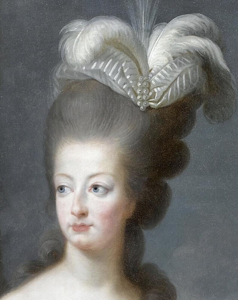 Premier portrait officiel de Marie-Antoinette par Mme Vigée-Lebrun (1778) Captu101