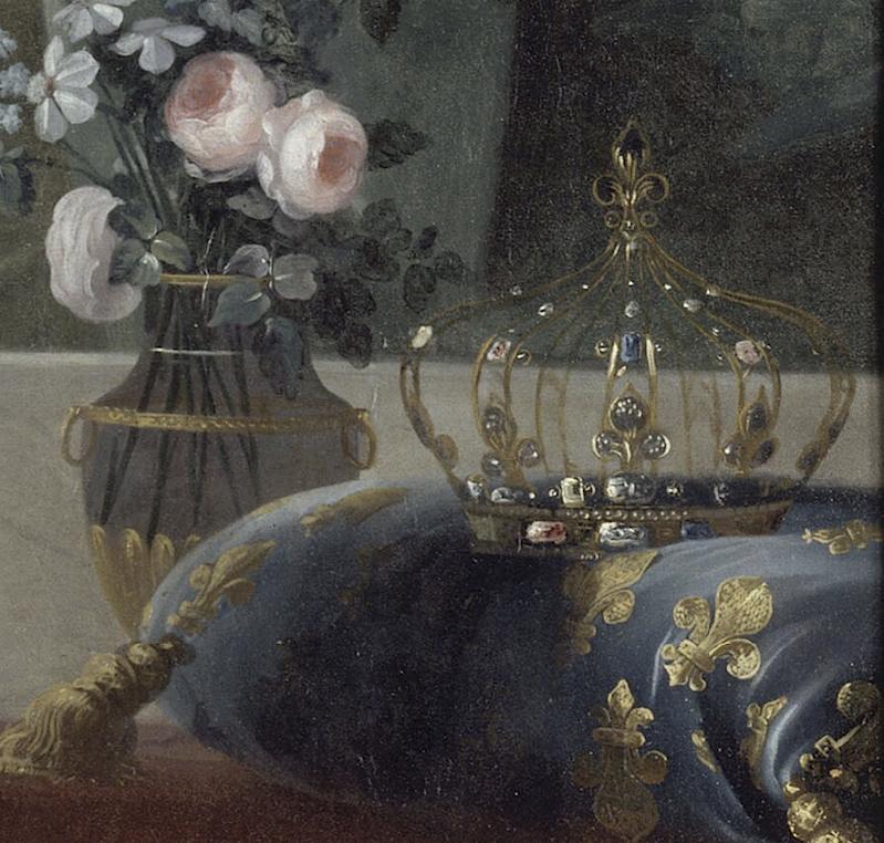 Marie-Antoinette par Vigée Le Brun (1783), d'après le portrait de 1778 Captu102