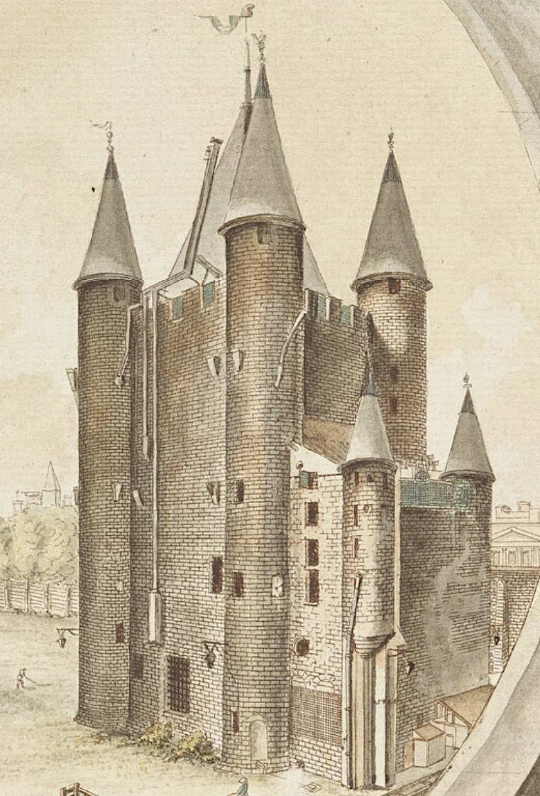 La famille royale à la prison du Temple : plans et aménagements - Page 7 Captu114