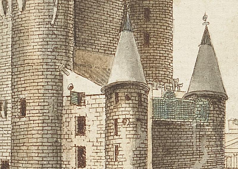 La famille royale à la prison du Temple : plans et aménagements - Page 7 Captu115