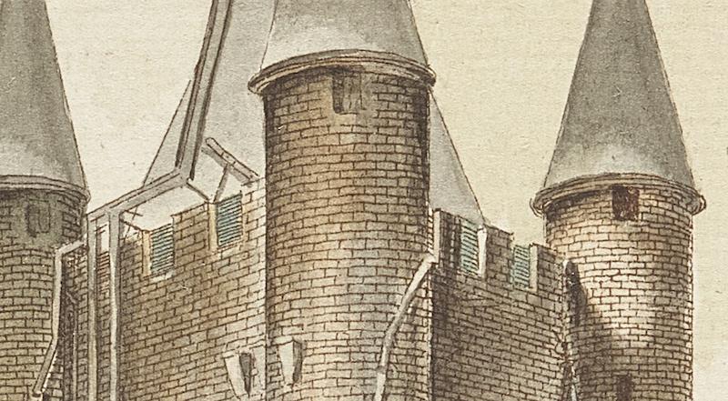 La famille royale à la prison du Temple : plans et aménagements - Page 7 Captu116